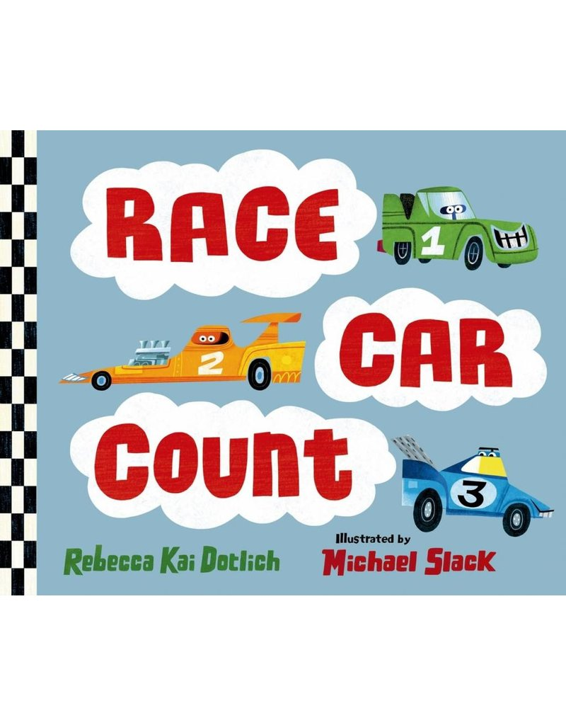 Race Car Count Board Book