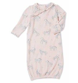 Angel Dear Angel Dear | Pink Zebra Gown