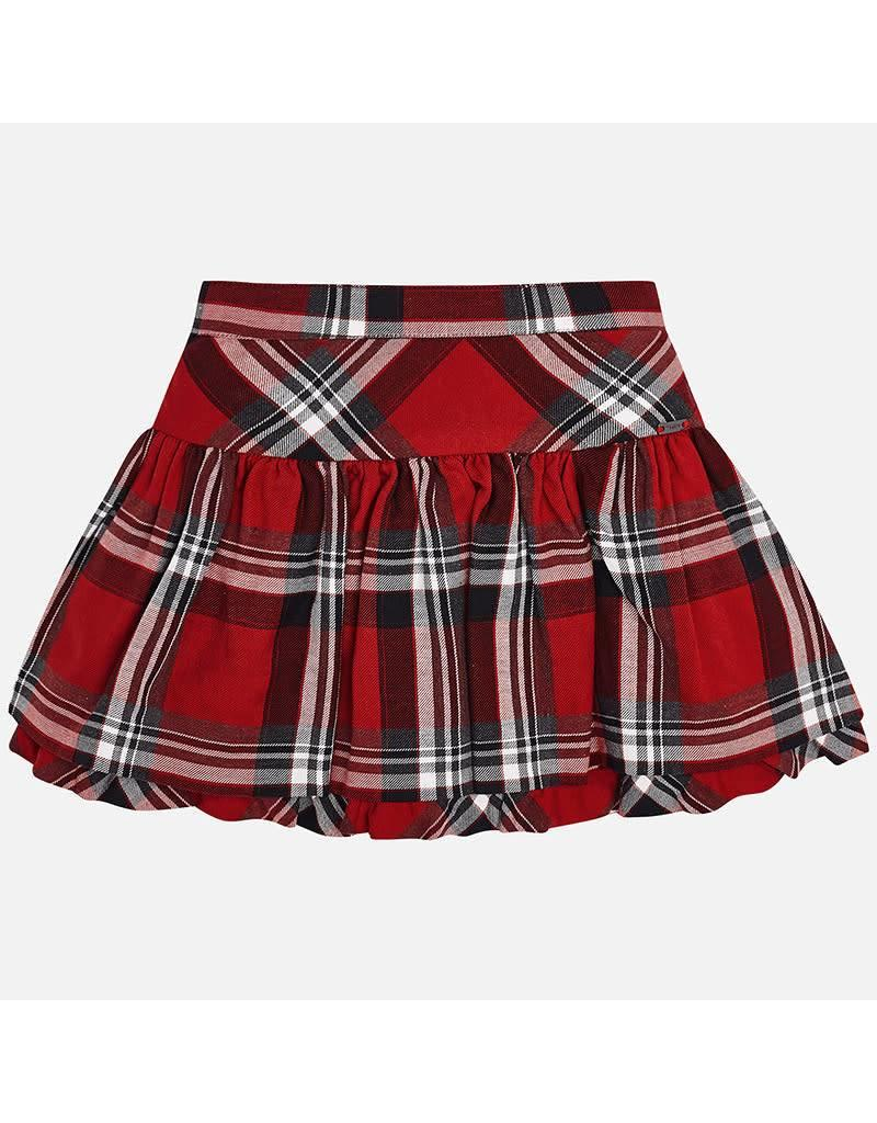 Mayoral Mayoral | Tartan Ruffle Skirt