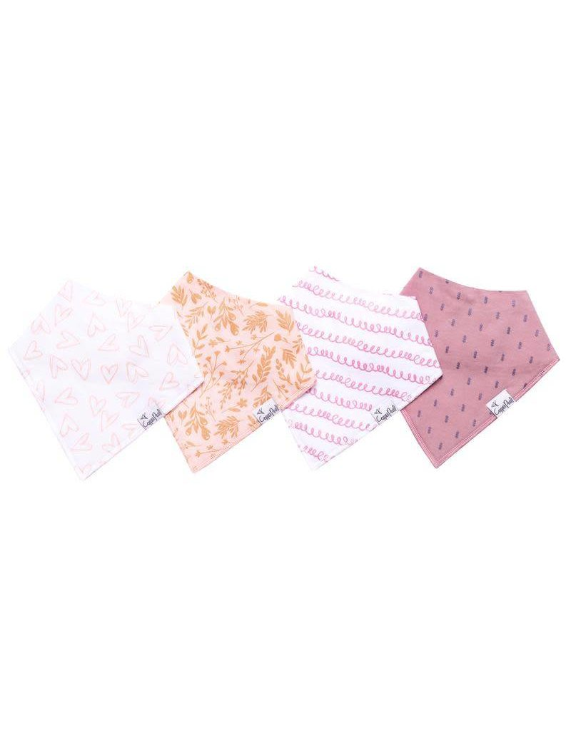 Copper Pearl Copper Pearl | 4-Pack Bandana Bib Set Lola