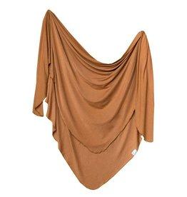 Copper Pearl Copper Pearl   Camel Single Knit Blanket