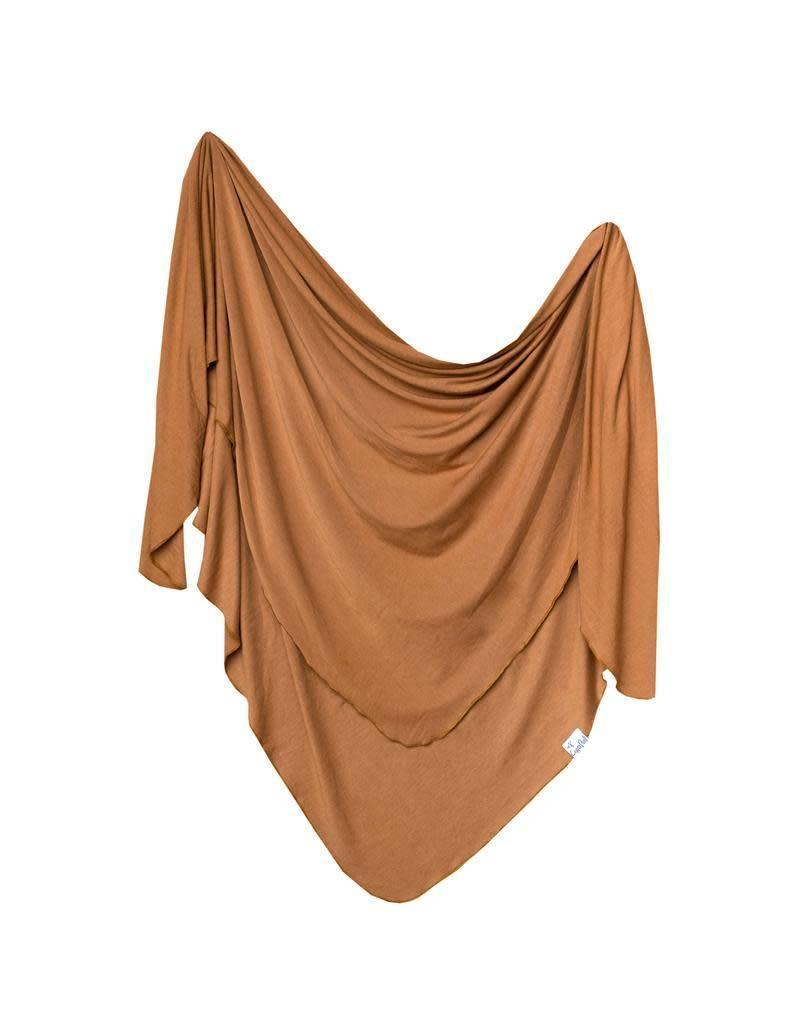 Copper Pearl Copper Pearl|Camel Single Knit Blanket