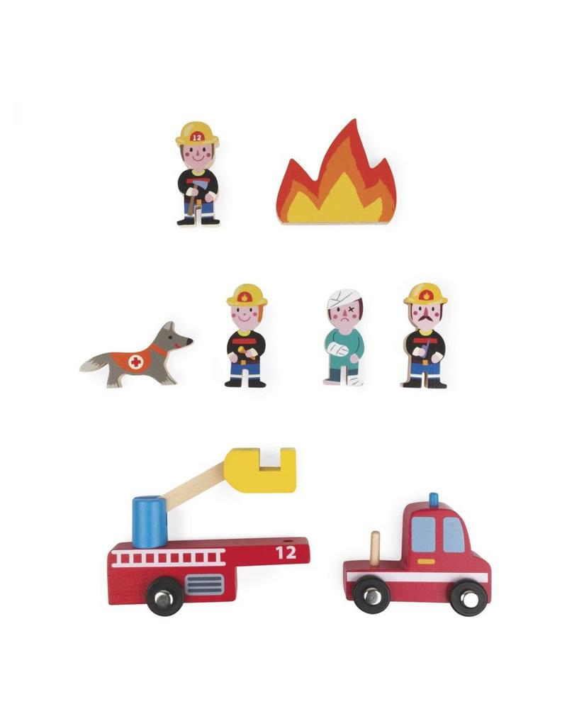 Janod Janod Mini Story | Firefighters