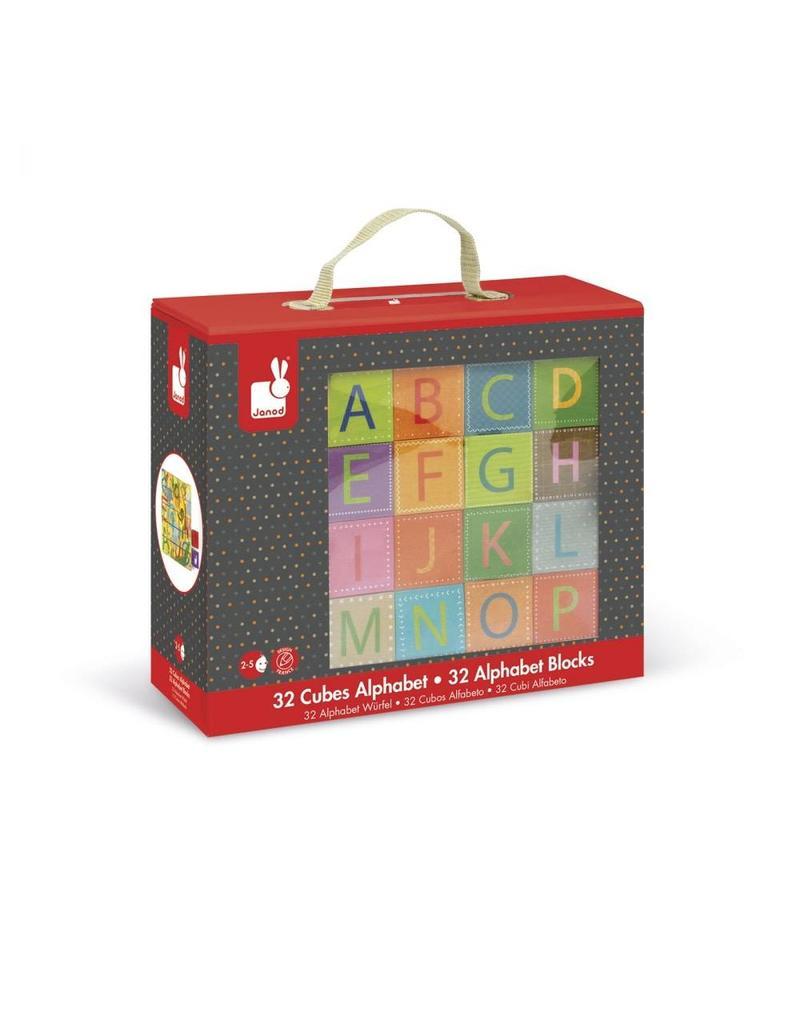 Janod Janod |Kubkid 32 Alphabet Block Set