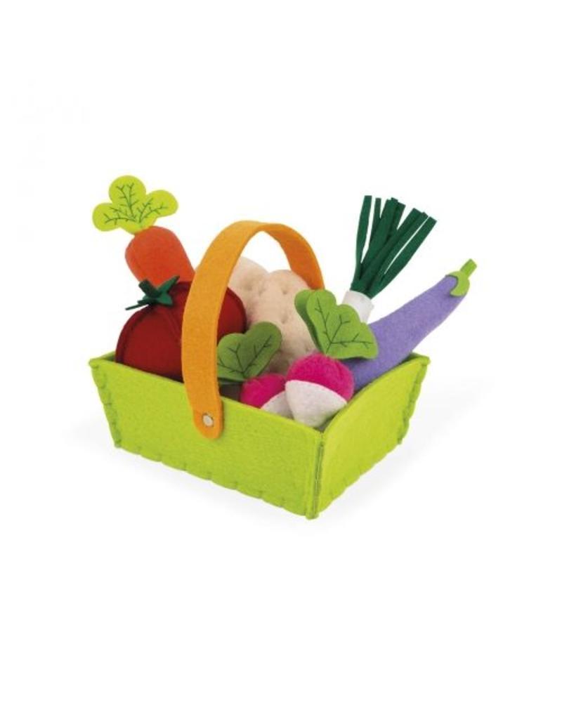 Janod Janod | Fabric Play Food Basket