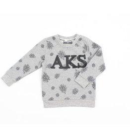 Romy & Aksel | Pinecone Print Baby Sweatshirt