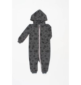 Romy & Aksel | Pine Forest Hooded Romper