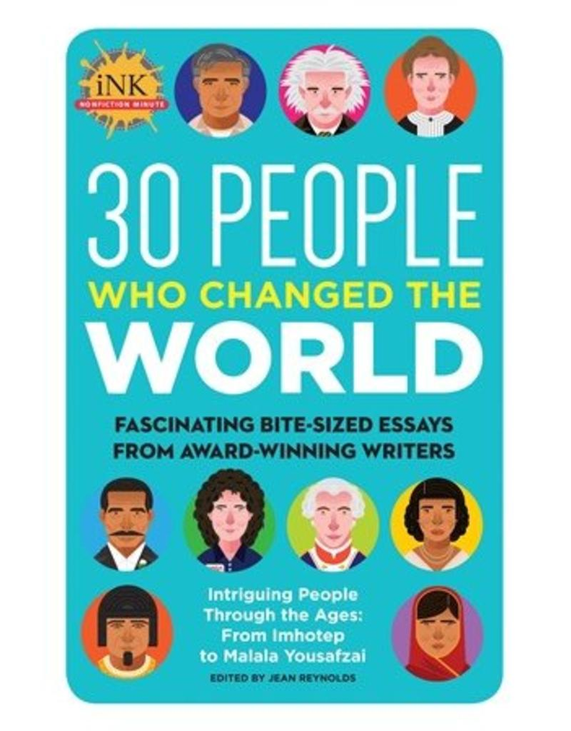Quarto 30 People Who Changed the World