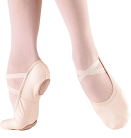 SODANCA STRETCH CANVAS SPLIT SOLE SLIPPER