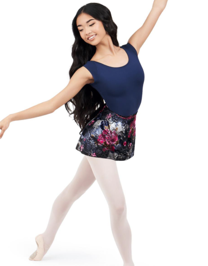 CAPEZIO BATANICAL WRAP SKIRT