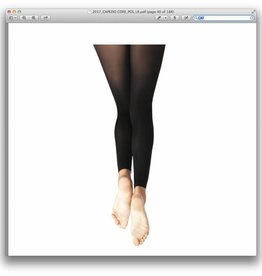 CAPEZIO FOOTLESS TIGHTS WOMEN