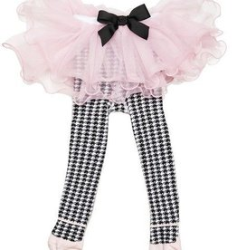 HOUNDSTOOTH TUTU TIGHTS 0-12 MO