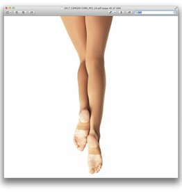 CAPEZIO STIRRUP TIGHTS GIRLS