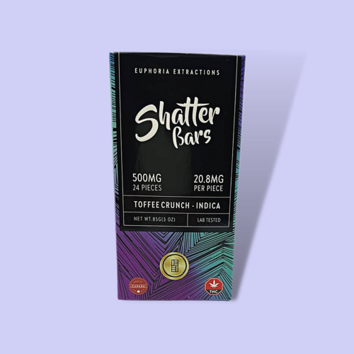 Euphoria Extractions Toffee Crunch - 500mg THC - Indica