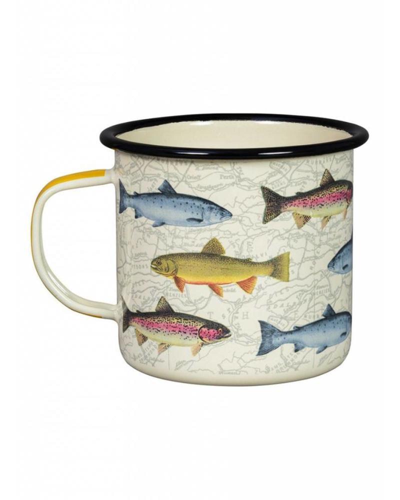 Wild & Wolf Enamel Mugs