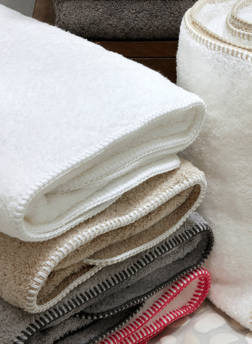 Matouk Whipstitch Bath Towels Highcroft Fine Linens And Home