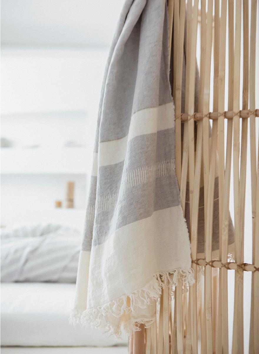Libeco Belgian Fouta Towel-2