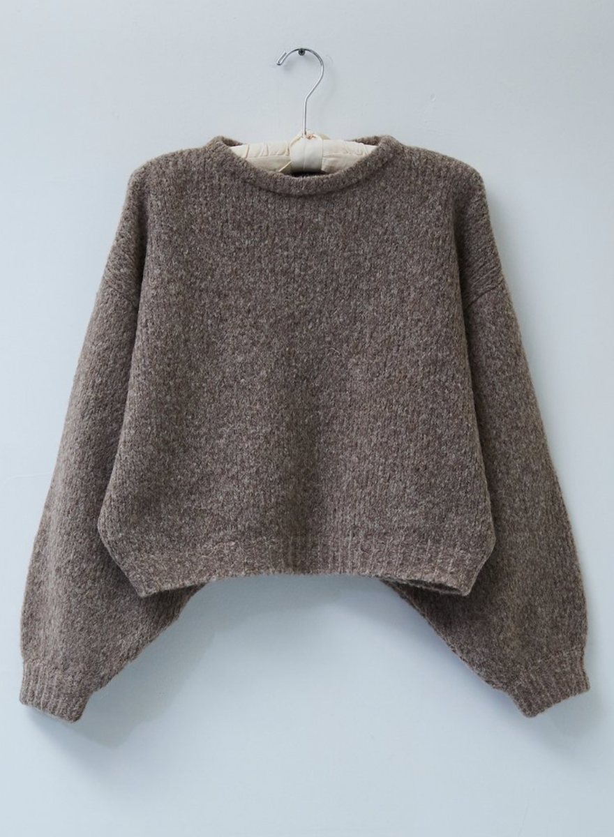 Atelier Delphine Balloon Sleeve Sweater-3