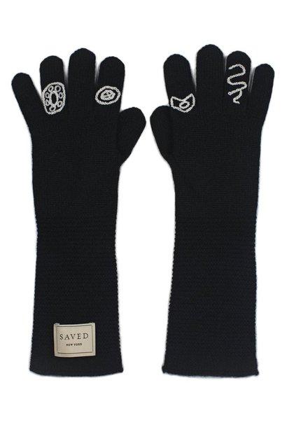 Cashmere Opera Gloves