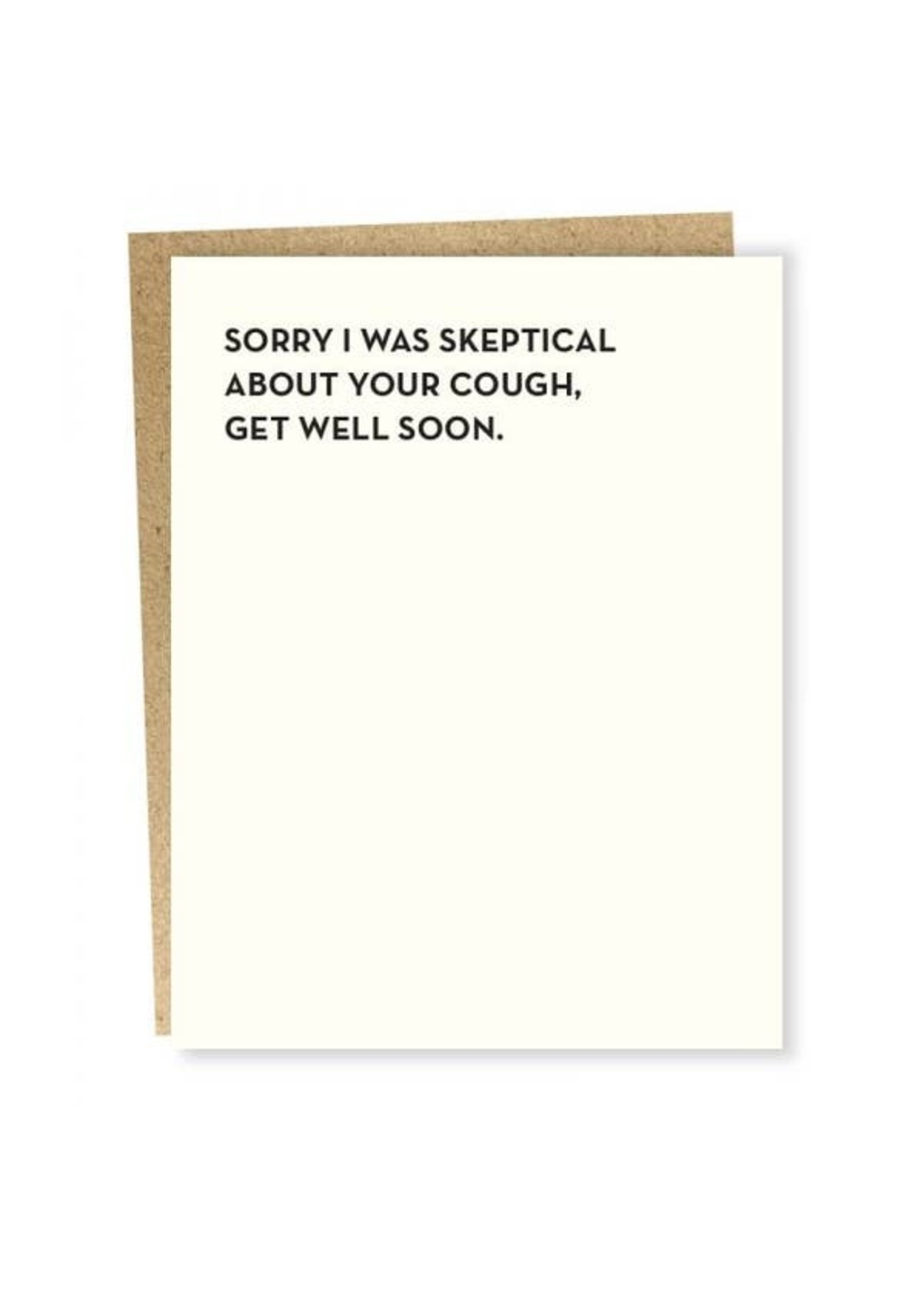 Sapling Press Sapling Card Skeptical Card