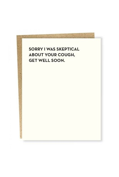 Card Skeptical Card