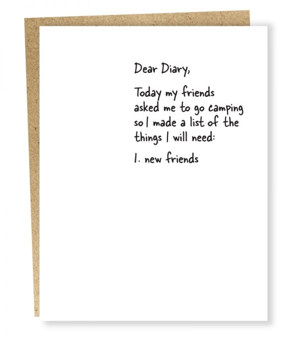 Sapling Card New Friends-1