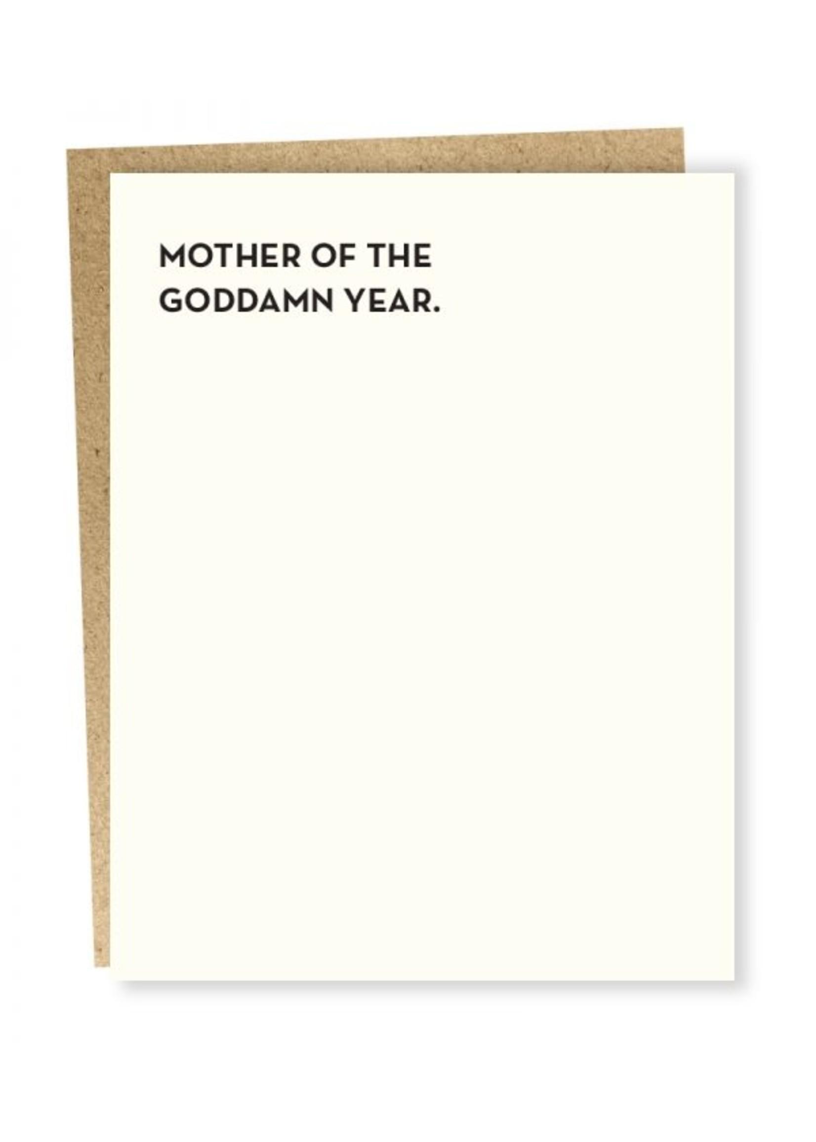 Sapling Press Sapling Card Mother of the Year Card