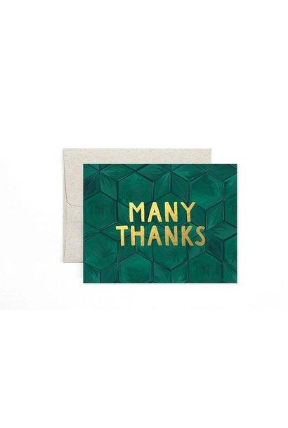 Green Tile Thanks