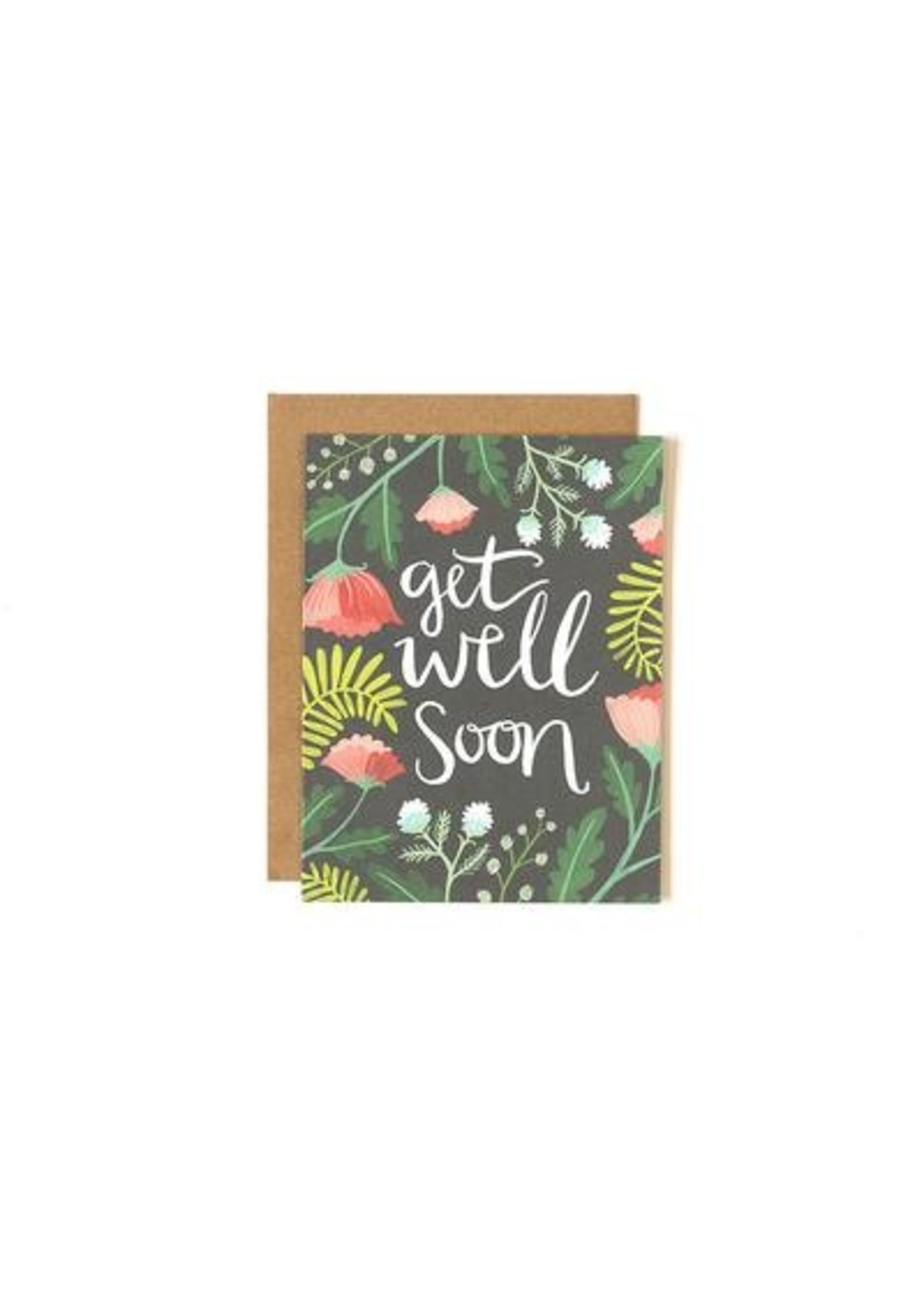 1 Canoe 2 Card Get Well Floral