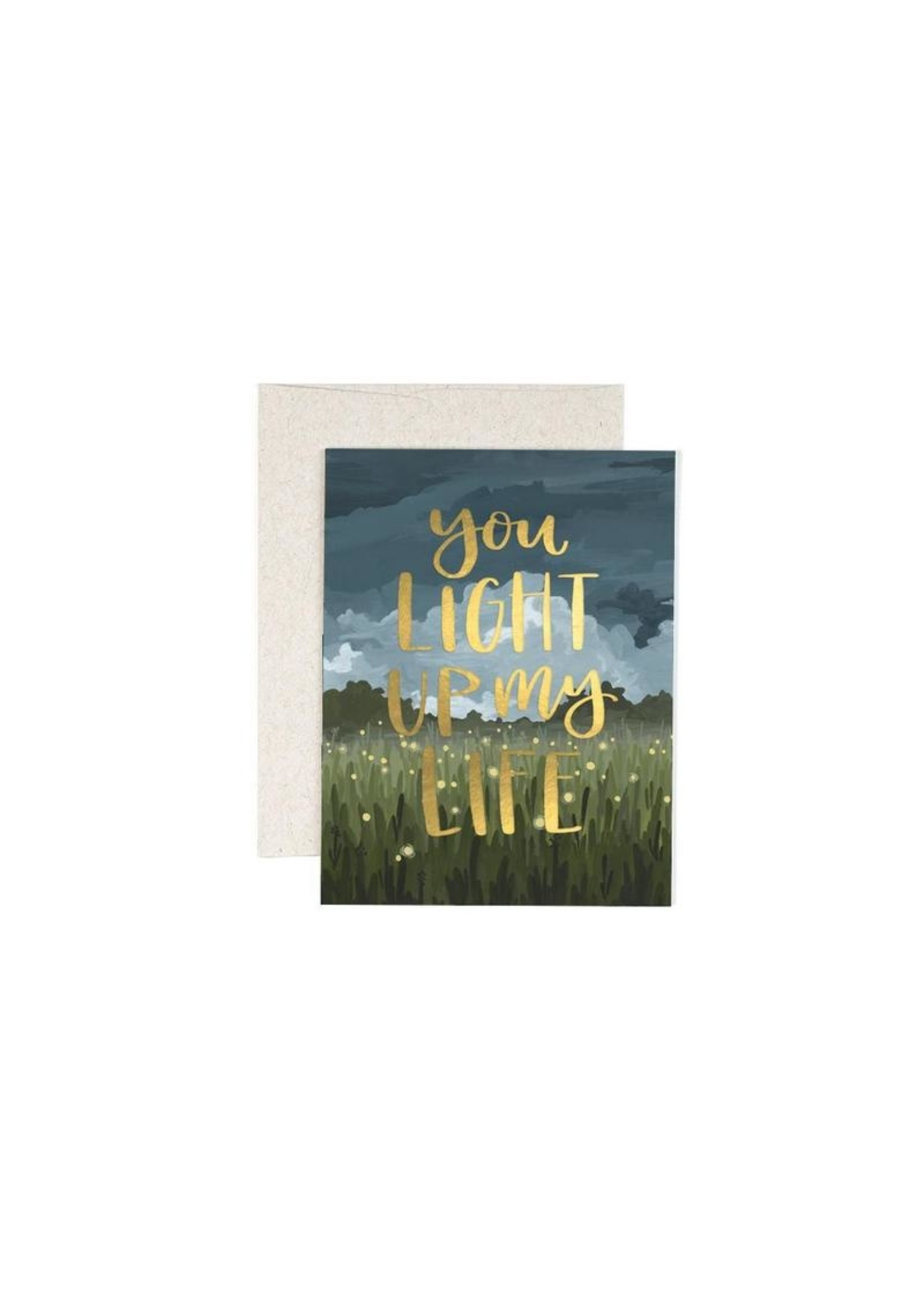 One Canoe 2 Greeting Card You light up My Life