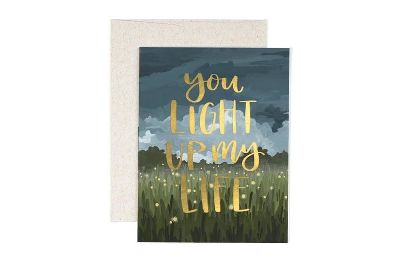 One Canoe 2 Greeting Card You light up My Life-1