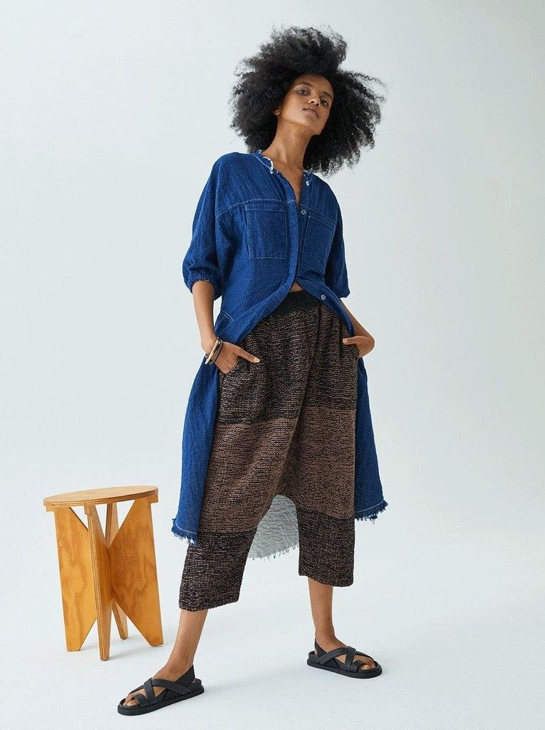 Atelier Delphine Acra Coat Indigo-1