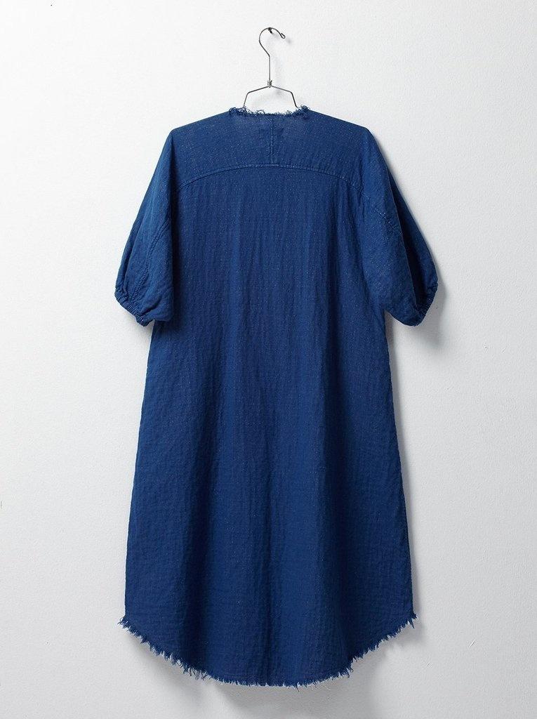 Atelier Delphine Acra Coat Indigo-3
