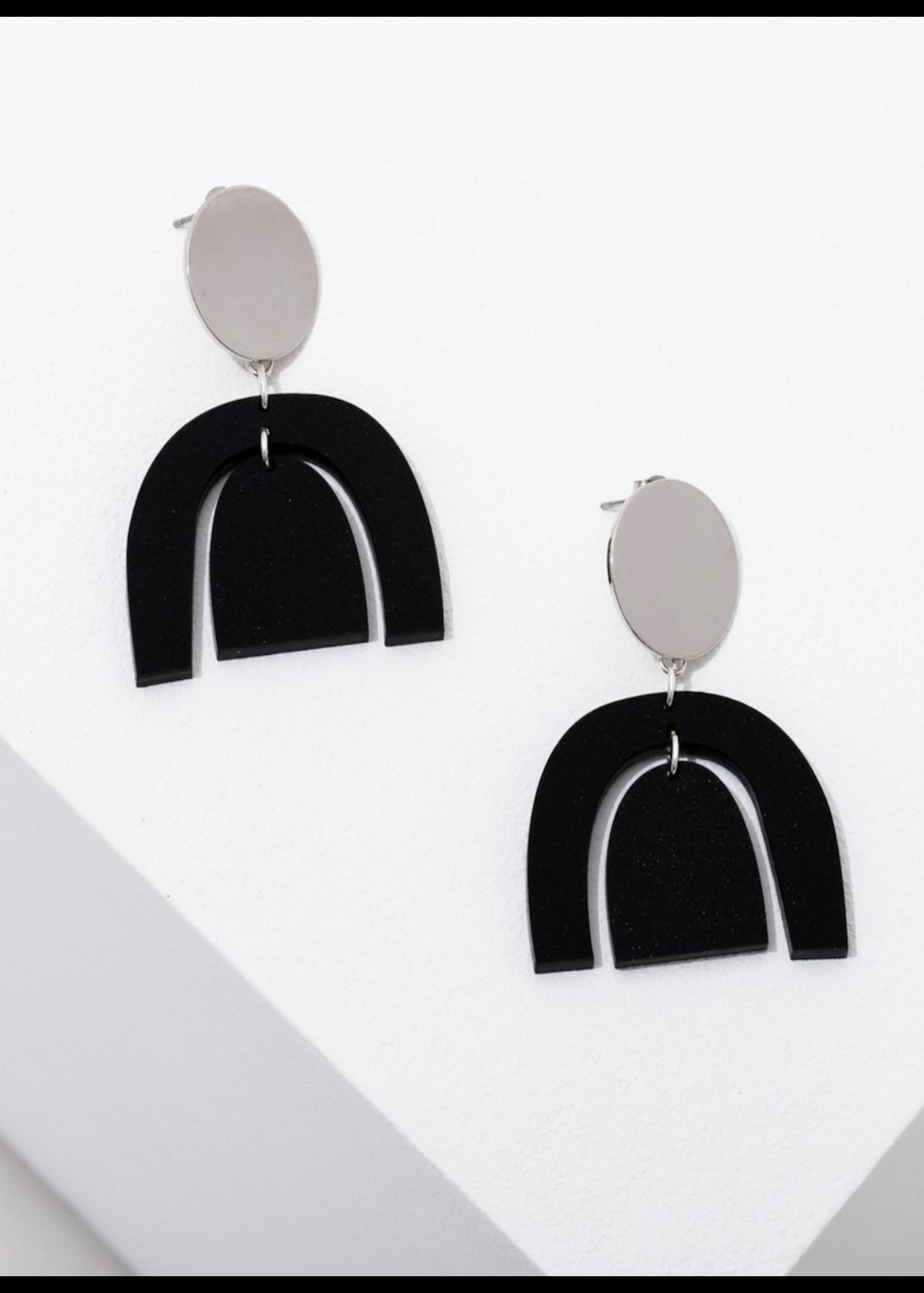 Larissa Loden Brandt Silver Earrings