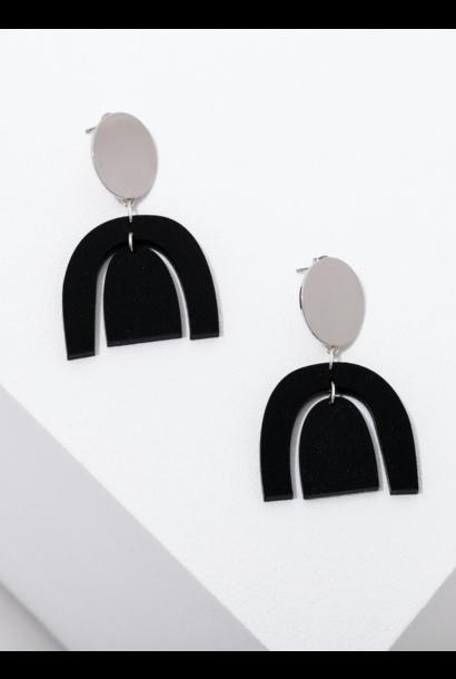 Brandt Silver Earrings