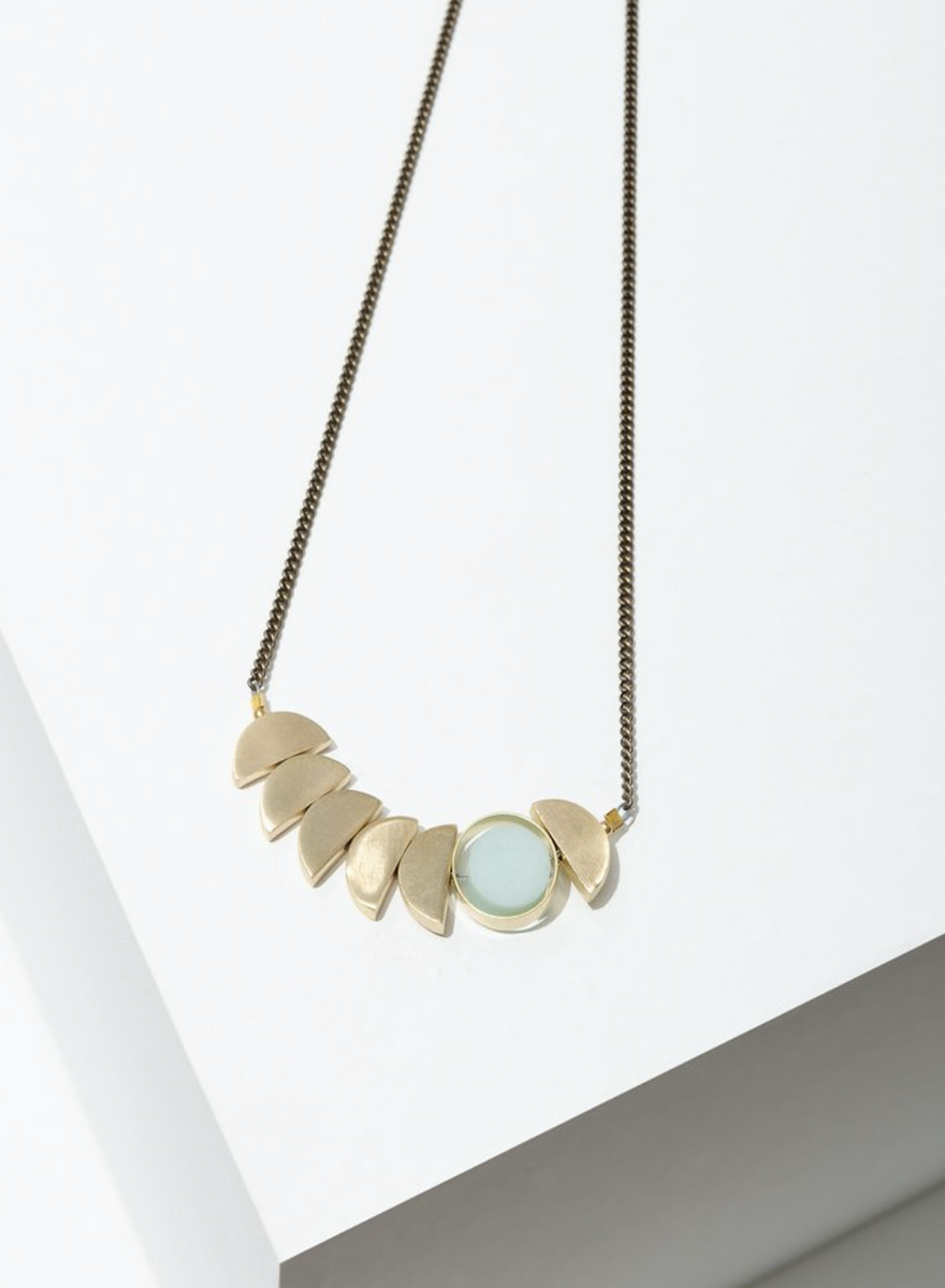 Zephyr Necklace Amazonite-1