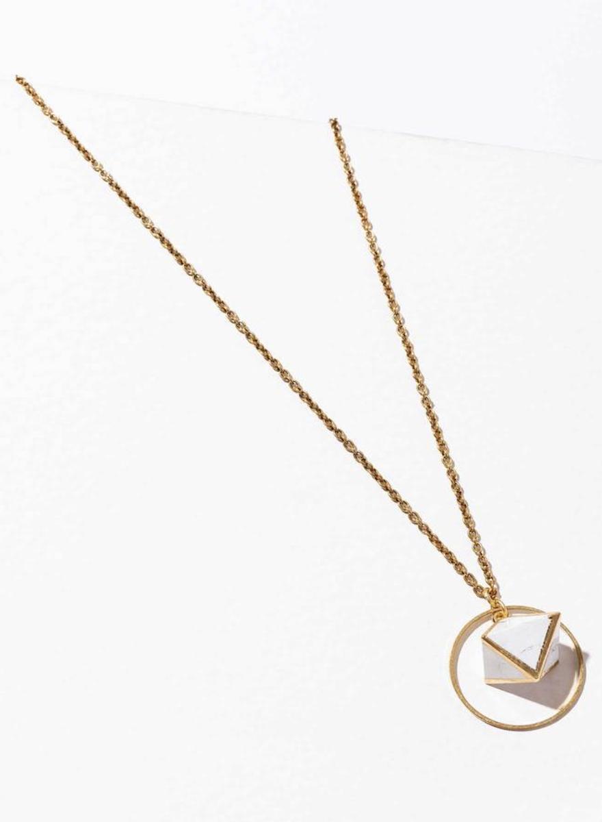 Orb Howlite Necklace-1