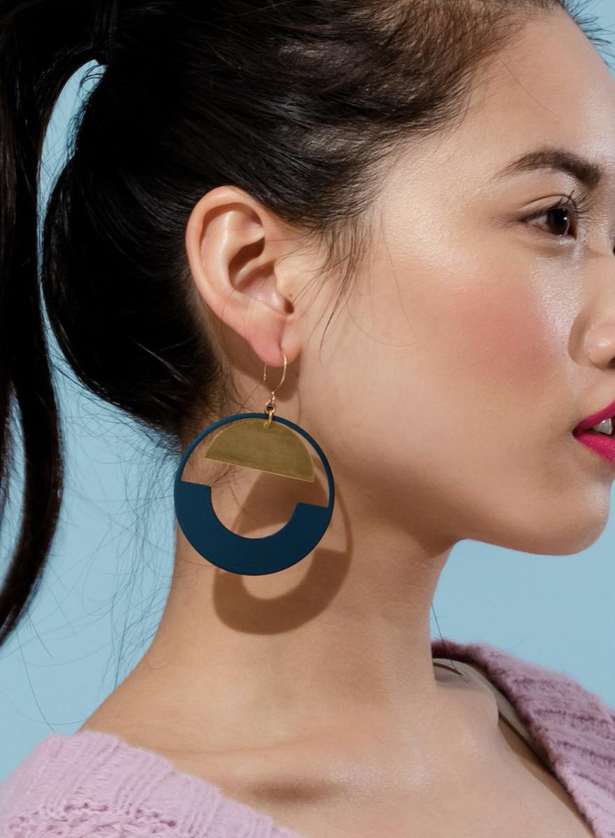 Baltic Hoop Earrings-2