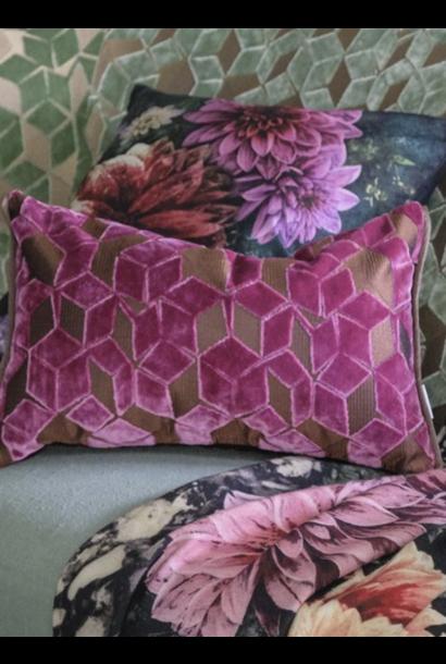 Fitzrovia Damson Pillow