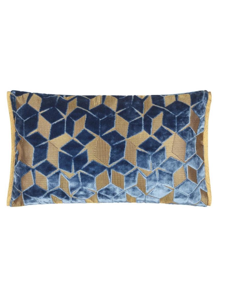 Fitzrovia Cerulean Pillow-2