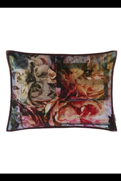 Fleur Nouveau Fuchsia Pillow