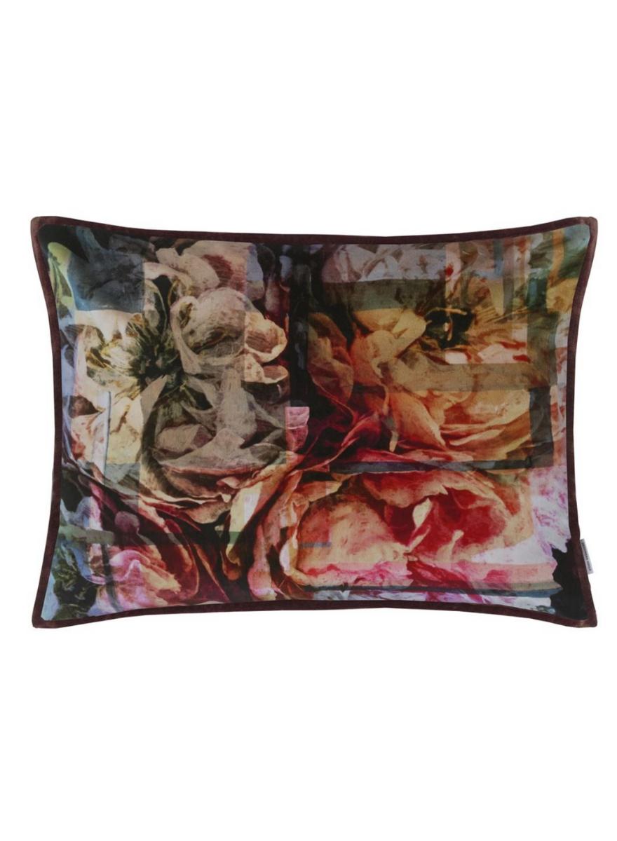 Fleur Nouveau Fuchsia Pillow-1