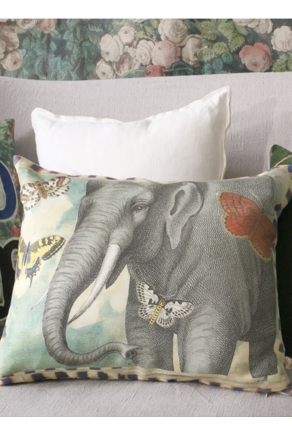 Elephant's Trunk Sky Pillow