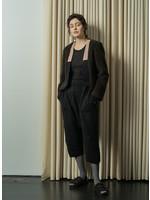 Atelier Delphine Black Loop Yarn Kiko Pant