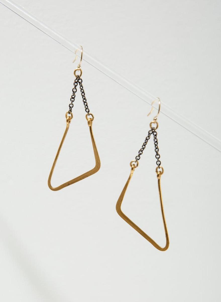 Vintage Mod Swing Earrings-1