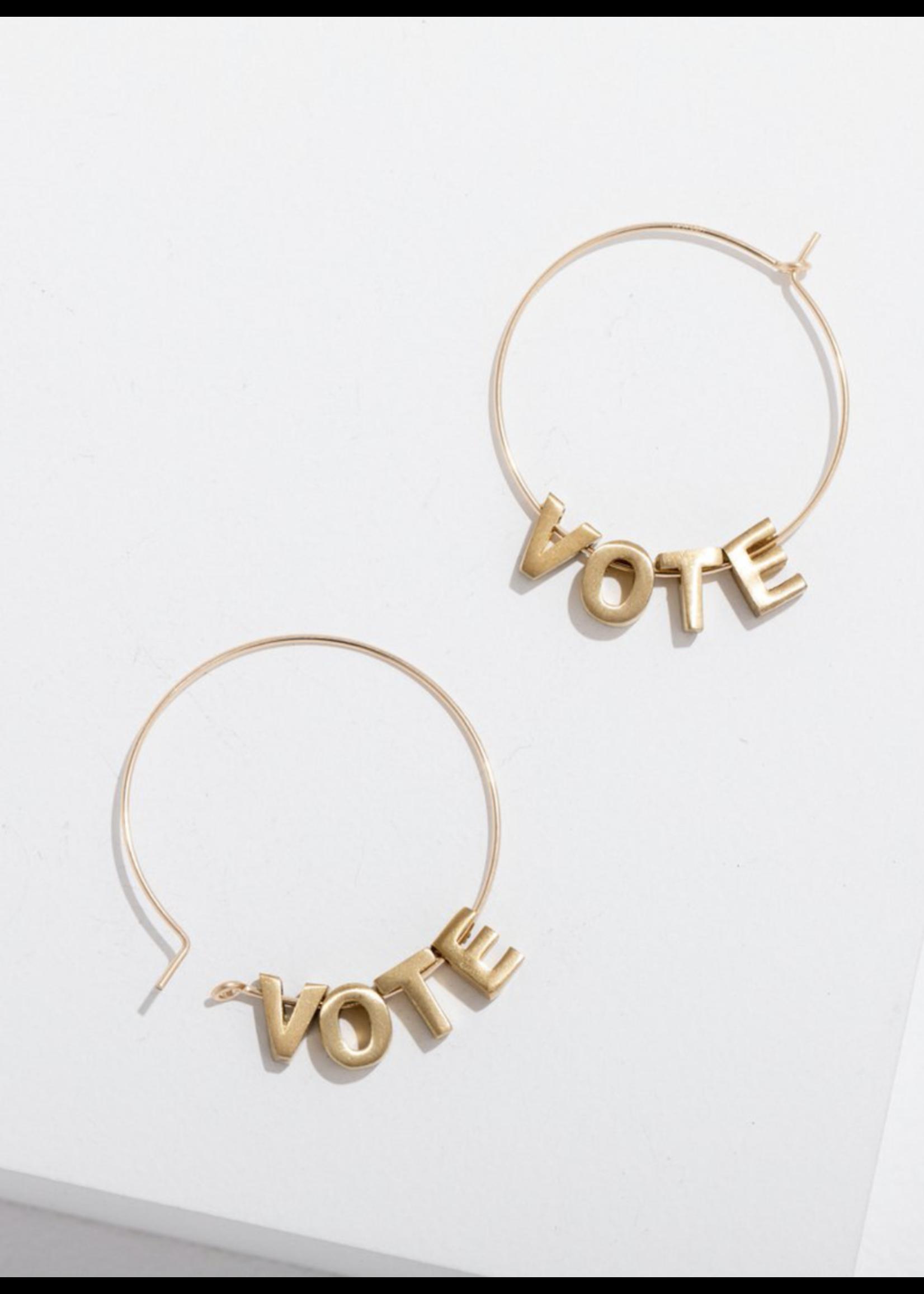 Larissa Loden Vote Earrings