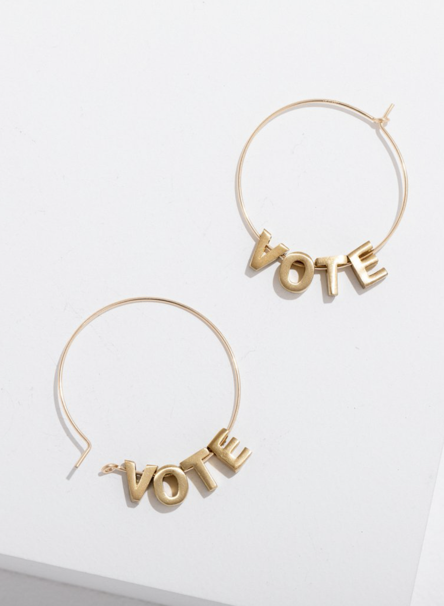 Vote Earrings-1