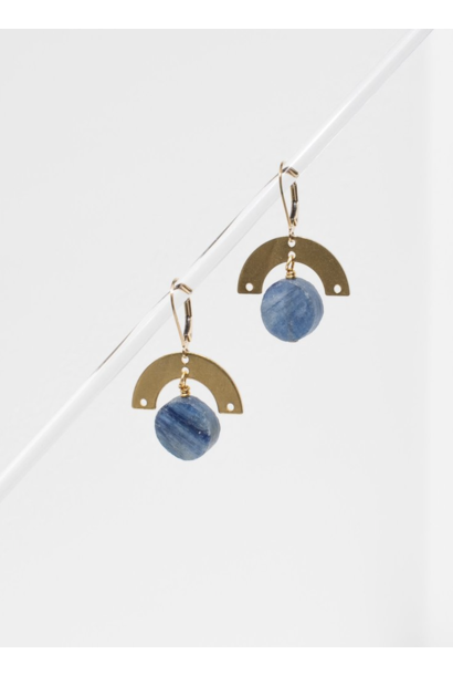 Lev Kyanite Earrings