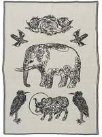 SAVED New York Elephant & Friends Throw