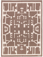SAVED New York Cashmere Maison Leleu Totem Throw